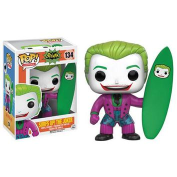 Batman 1966 TV Series Surf's Up Joker Pop! Vinyl Figure