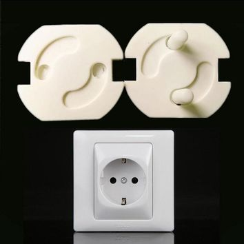 10pcs EU Power Socket Electrical Outlet Covers - Baby Kids Child Safety Guard Protection