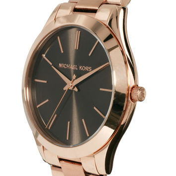 Michael Kors | Michael Kors Slim Runway Watch MK3181 at ASOS
