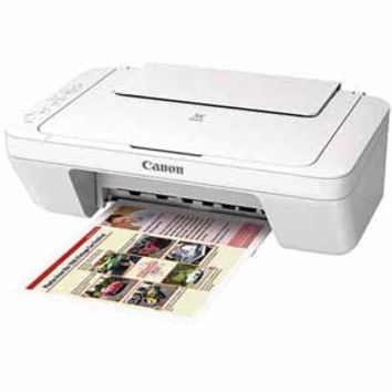Canon PIXMA MG3020 Wireless All-in-One Inkjet Printer - White