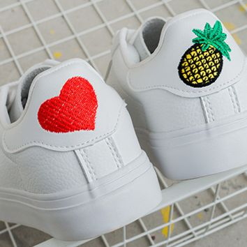 Heart and Pineapple Sneakers
