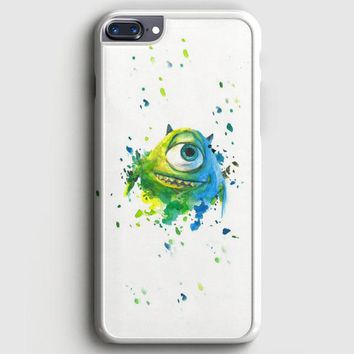Monster Inc Mike Paint Brush iPhone 8 Plus Case | casescraft