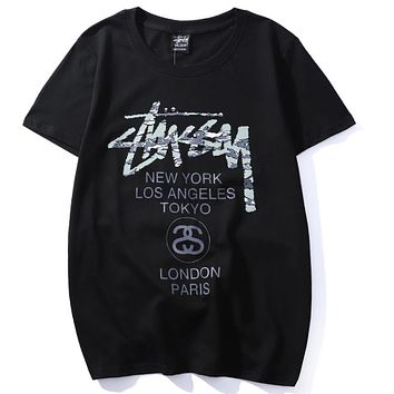 Stussy Fashion Casual Shirt Top Tee