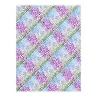 Butterfly Garden Fleece Blanket