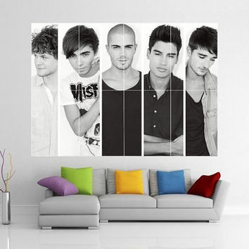 The Wanted Giant Wall Art Picture Poster