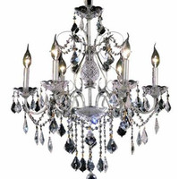 Christiane - Hanging Fixture (6 Light Traditional Hanging Crystal Chandelier) - 1713D24