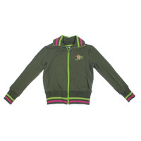 Nuvula Womens Kingdom of Nuvas Knit Graphic Track Jacket