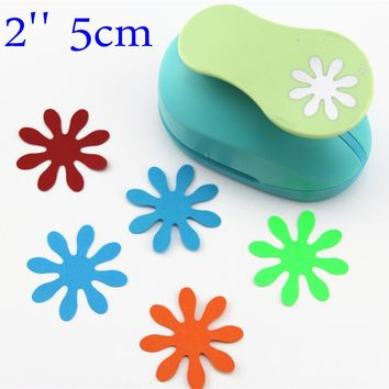 2'' 5cm puncher punch paper cutter scrapbook Embossing device kid child craft tool hole punches