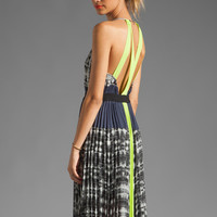 BCBGMAXAZRIA Maxi Dress in White Combo from REVOLVEclothing.com