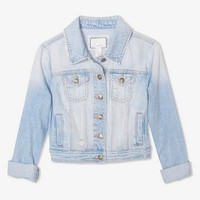 Lightly Faded Denim Jacket | FOREVER 21 - 2005757012