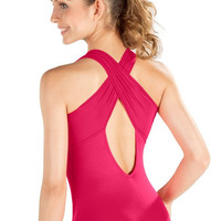 So Danca D269 Tank Criss Cross Strap Leotard - Adult