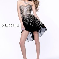 Sherri Hill Cocktail Homecoming dress 8443