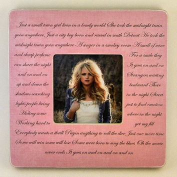 Song Lyrics Frame Wedding Song Lyrics Wedding Vows Poems Any Color