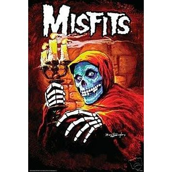 THE Misfits Movie Poster American Psycho Michale Graves Poster Print, 24x36
