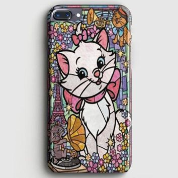 Marie Cat DisneyS The Aristocats Stained Glass iPhone 8 Plus Case | casescraft
