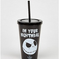 Jack Nightmare Before Christmas Cup with Straw - Spencer's