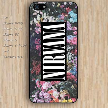 iPhone 5s 6 case flowers nirvana colorful phone case iphone case,ipod case,samsung galaxy case available plastic rubber case waterproof B527