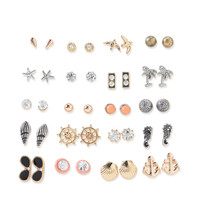 Beach Stud Earring 20-Pack