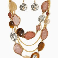 Katrina Drape Necklace Set | Fashion Jewelry | charming charlie