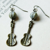 love song earrings.
