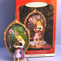 1999 Sleeping Beauty Hallmark Disney Retired Series Ornament