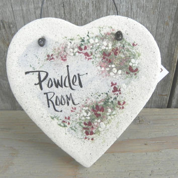 Powder Room Door Knob Hanger Salt Dough Ornament