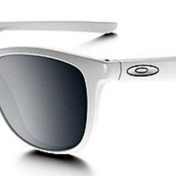 OAKLEY TRILLBE x womens sunglasses - CHROME IRIDIUM LENS - OO9340-08 - WHITE