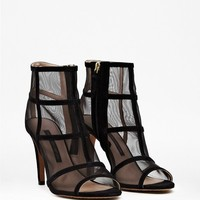 QUANNA MESH ANKLE BOOTS