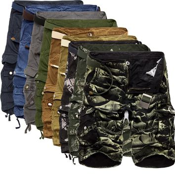 Cargo Multi Color Men Shorts