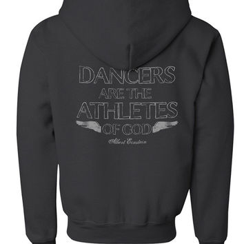 Dancers are the Athletes of God - Youth Hoodie
