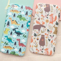 Zoo iPhone 5se 5s 6 6s Plus Case Cover + Nice Gift Box 357