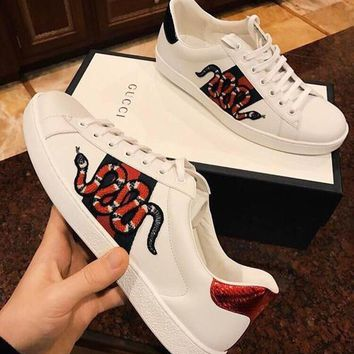 ''Gucci'':Gucci:Trending Fashion Casual Sports Shoes