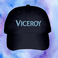 Mac Demarco Embroidered Viceroy Cap Black