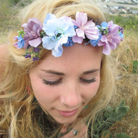 "Adjustable Flower Crown - ""Berry Picking"""