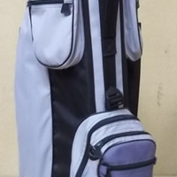 Bennington Golf Bag 7 Pockets Gray Black -- Used