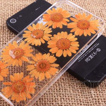 iPhone 6 case iPhone 6 plus Pressed Flower, iPhone 5/5s case, iPhone 4/4s case, 5c case Galaxy S4 S5 Note 2 note 3 Real Flower case NO:466