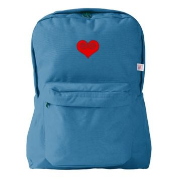 Heart American Apparel™ Backpack