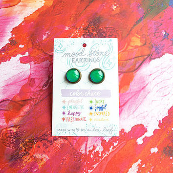 Changing Color Mood Earrings
