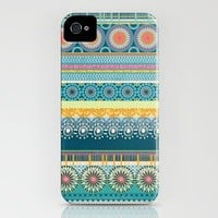 Blue Streaks iPhone Case by Amanda Dilworth | Society6