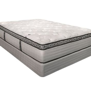 LAURA ASHLEY HERITAGE COLLECTION LINLEY LUXURY EURO PILLOWTOP MATTRESS