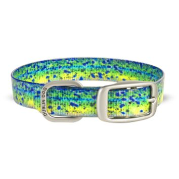 Dublin Dog KOA Waterproof Dog Collar - Mahi Mahi
