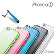 Matte Gel Case TPU Skin Soft Jelly Cover For iPhone 6s 6 s Plus + SG + Stylus
