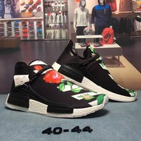 Trendsetter OFF-WHITE x Adidas Hu NMD Woman Fashion Running Sneakers Sport Shoes