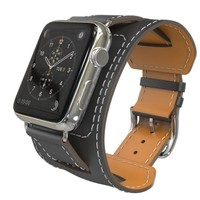 YIFALIAN Series 2/1Genuine Leather Loop For Apple Watch cuff Band 42mm Adjustable strap For Apple Watch leather 38mm