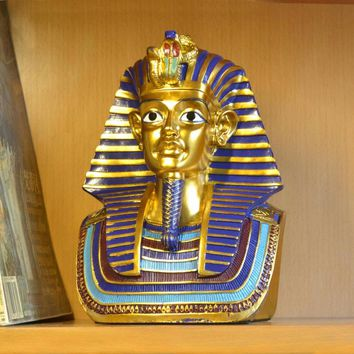 Historical figures Sculpture Art Egyptian Decoration Crafts Pharaohs Headdress Decorations Home furnishings