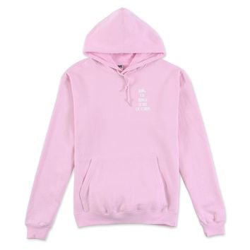 Men's King of Kings Lord of Lords Hooded Sweatshirt (Pink)