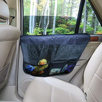 Evelots Pet Car Door Protector-Waterproof-Easy to Install-All Vehicles-3 Pockets
