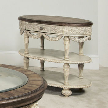 American Drew Jessica McClintock Boutique Accent Table w/ Revival Top