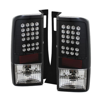 Scion XB 03-07 LED Tail Lights - Black