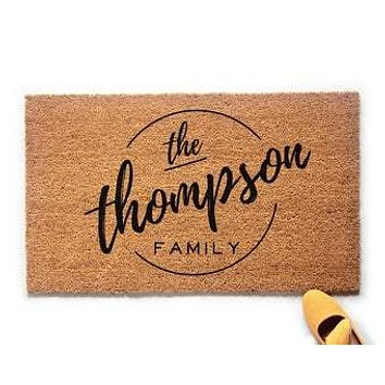 Personalized Family Name Doormat